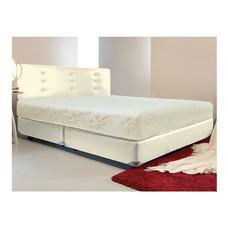 Darling Deluxe ที่นอนพร้อมเตียง 3.5 ฟุต Riviera Box Spring & Head Board รุ่น Delina - White Cream