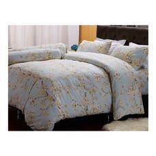 Darling Deluxe ชุดผ้าปูที่นอนแบบรัดมุมพร้อมผ้าห่มนวม 6 ชิ้น รุ่น English Romantic  สำหรับที่นอน 5 ฟุต - Jordan