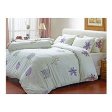 Darling Deluxe ชุดผ้าปูที่นอนแบบรัดมุมพร้อมผ้าห่มนวม 6 ชิ้น รุ่น English Romantic  สำหรับที่นอน 6 ฟุต - Ivy