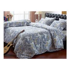 Darling Deluxe ชุดผ้าปูที่นอนแบบรัดมุมพร้อมผ้าห่มนวม 6 ชิ้น รุ่น English Romantic  สำหรับที่นอน 6 ฟุต - Victoria