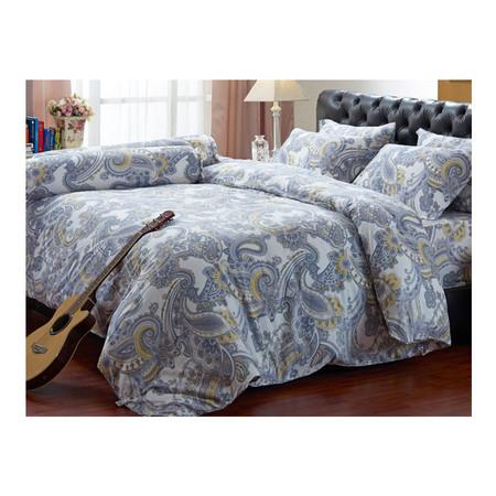 Darling Deluxe ชุดผ้าปูที่นอนแบบรัดมุมพร้อมผ้าห่มนวม 4 ชิ้น รุ่น English Romantic สำหรับที่นอน 3.5 ฟุต - Victoria