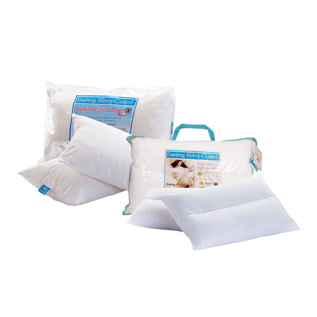 Darling Deluxe หมอนหนุนแบบนุ่ม 2 ช่อง Sleep Guard Anti-Dust Mite (Medium) + Darling Deluxe หมอนหนุน Sleep Guard Anti-Dust Mite Junior Pillow