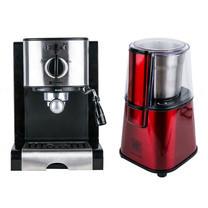 Duchess Coffee Maker รุ่น CM5000BL - Black + Coffee Grinder CG9100R + Coffee HandPods (1 กล่อง/10 ซอง)