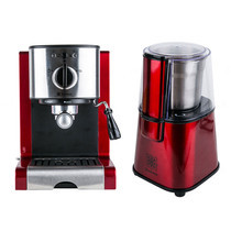 Duchess Coffee Maker รุ่น CM5000RE - Red + Coffee Grinder CG9100R + Coffee HandPods (1 กล่อง/10 ซอง)