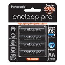 Eneloop New Pro 2550 mAh Rechargeable Battery AA x - Black (4 ก้อน/แพ็ค)