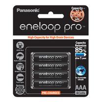 Eneloop Pro 950 mAh Rechargeable Battery AAA - Black (4 ก้อน/แพ็ค)
