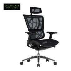 ERGOHUMAN THAILAND เก้าอี้สุขภาพ IOO (Black)