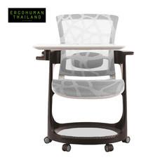 ERGOHUMAN THAILAND เก้าอี้สุขภาพ SKATE-EP (White)
