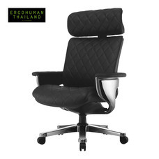 ERGOHUMAN THAILAND เก้าอี้สุขภาพ NUVEM-CEO (Black)