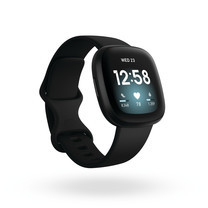 Fitbit Versa 3 Smart Watch Black