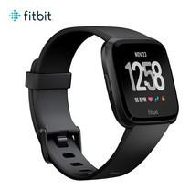 นาฬิกาอัจฉริยะ Fitbit Versa (NFC) - Black /Black Aluminum CJK