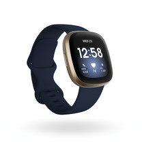 Fitbit Versa 3 Smart Watch Midnight