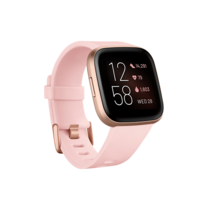 Fitbit Versa 2 (NFC) Smart Watch Petal - Copper Rose
