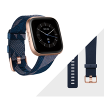 Fitbit Versa 2 SE (NFC) Smart Watch Navy - Copper Rose