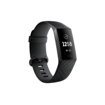 Fitbit Charge 3 Advanced Fitness Tracker Graphite Black
