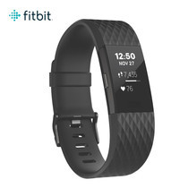 Fitbit Charge2 Heart Rate and Fitness Wristband Small (Black Gunmetal)