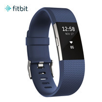 Fitbit Charge2 Heart Rate and Fitness Wristband Small (Blue/Silver)