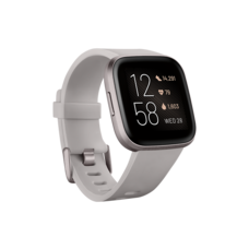 Fitbit Versa 2 (NFC) Smart Watch Sandstone - Iron Mist
