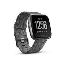 นาฬิกาอัจฉริยะ Fitbit Versa (NFC) FB505BKGY SE - Charcoal Woven