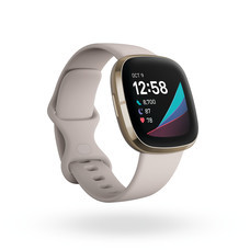 Fitbit Sense Smart Watch Lunar White