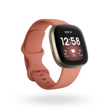 Fitbit Versa 3 Smart Watch Pink Clay