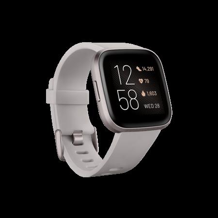 Fitbit Versa 2 (NFC) Smart Watch Sandstone - Iron Mist