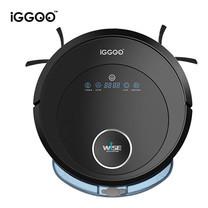 iGGOO หุ่นยนต์ดูดฝุ่น ถูพื้นอัตโนมัติ รุ่น WISE