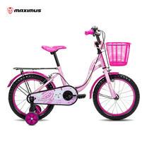 Maximus จักรยานเด็ก รุ่น Melodyme ล้อ 16 นิ้ว - สีชมพู