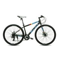 Tiger จักรยานไฮบริด รุ่น Pedal (ล้อ 700C) - สีดำ