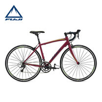 FUJI จักรยานเสือหมอบ Road bike เกียร์ รุ่น Finest 2.1 (Size 47) - Maroon