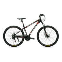 Tiger จักรยานเสือภูเขา รุ่น Cyclone (ล้อ 27.5 นิ้ว) - สีดำ/แดง