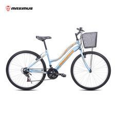 Maximus จักรยานเสือภูเขาสำหรับแม่บ้าน รุ่น Premio ล้อ 26 นิ้ว - สีฟ้า
