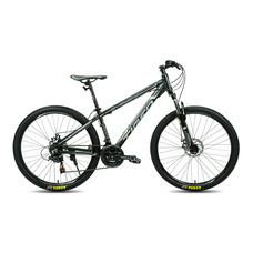 Tiger จักรยานเสือภูเขา รุ่น Cyclone (ล้อ 27.5 นิ้ว) - สีดำ/เทา