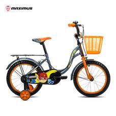 Maximus จักรยานเด็ก รุ่น Herome ล้อ 16 นิ้ว - สีเทาเข้ม/ส้ม