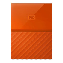 2.0 TB HDD EXT (ฮาร์ดดิสพกพา) WD MY PASSPORT 2017 ORANGE (WDBS4B0020BOR)