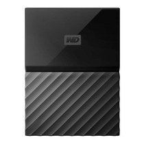 2.0 TB HDD EXT (ฮาร์ดดิสพกพา) WD MY PASSPORT 2017 BLACK (WDBS4B0020BBK)