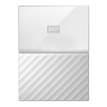 1.0 TB HDD EXT (ฮาร์ดดิสพกพา) WD MY PASSPORT 2017 WHITE (WDBYNN0010BWT)