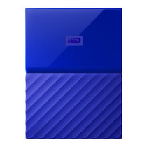 1.0 TB HDD EXT (ฮาร์ดดิสพกพา) WD MY PASSPORT 2017 BLUE (WDBYNN0010BBL)