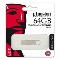 Kingston Flash Drive 64GB SE9G2 (DTSE9G2/64GBFR)