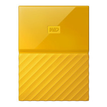 1.0 TB HDD EXT (ฮาร์ดดิสพกพา) WD MY PASSPORT 2017 YELLOW (WDBYNN0010BYL)