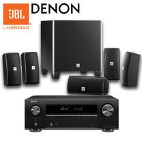 JBL DENON AV Compact Set2 (Cimema 610 + AVR-X550BT)