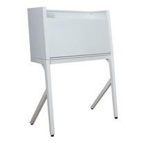 KIOSK ชุดโต๊ะทำงานพับได้ รุ่น BV-Set - สีขาว
