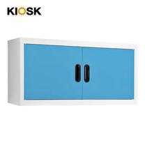KIOSK ตู้แขวนวางหนังสือบานเปิด รุ่น Maxbook Hanging Steel Door Cabinet - BO-Blue Ocean
