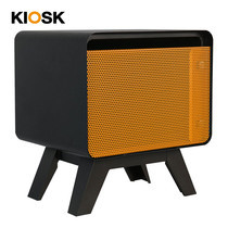 KIOSK ตู้วางของบานเปิดทรงเตี้ย รุ่น PUNTO' Open Door Cabinet-Short - OR-Orange