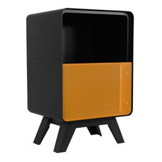 KIOSK ตู้วางของบานเปิดทรงสูง รุ่น PUNTO' Open Door Cabinet-High - OR-Orange