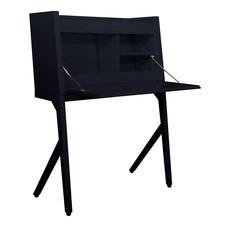 KIOSK ชุดโต๊ะทำงานพับได้ รุ่น BV-Set - สีดำ