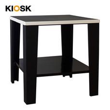 KIOSK โต๊ะเสริม รุ่น Konner - สีดำ/ขาว