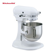 KitchenAid เครื่องผสมอาหารแบบยกโถ 5 ควอทซ์ 315 วัตต์ รุ่น 5K5SSWH - White