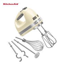 KitchenAid เครื่องผสมอาหารมือถือ 9 Speed รุ่น 5KHM9212AC - Cream