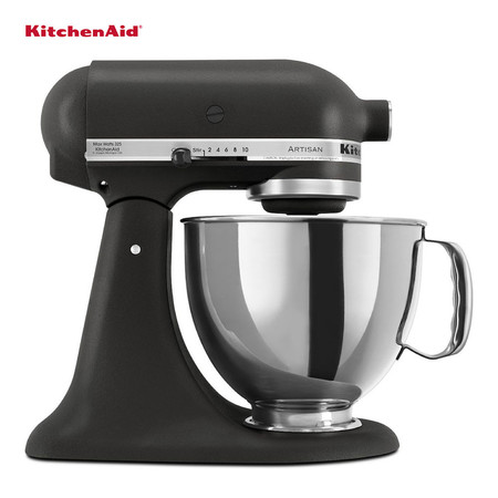 KitchenAid เครื่องผสมอาหารแบบยกหัว 5 ควอทซ์ 300 วัตต์ รุ่น 5KSM150BK - Matte Black